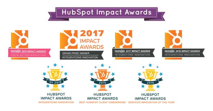 HubSpot Award Image