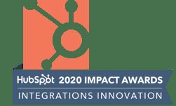 Hubspot 2020 Impact Award