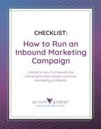 Inbound Marketing Campaign Checklist