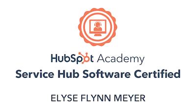 Service Hub Software Certification-1